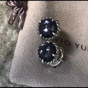 David Yurman 8 mm chatelaine earrings